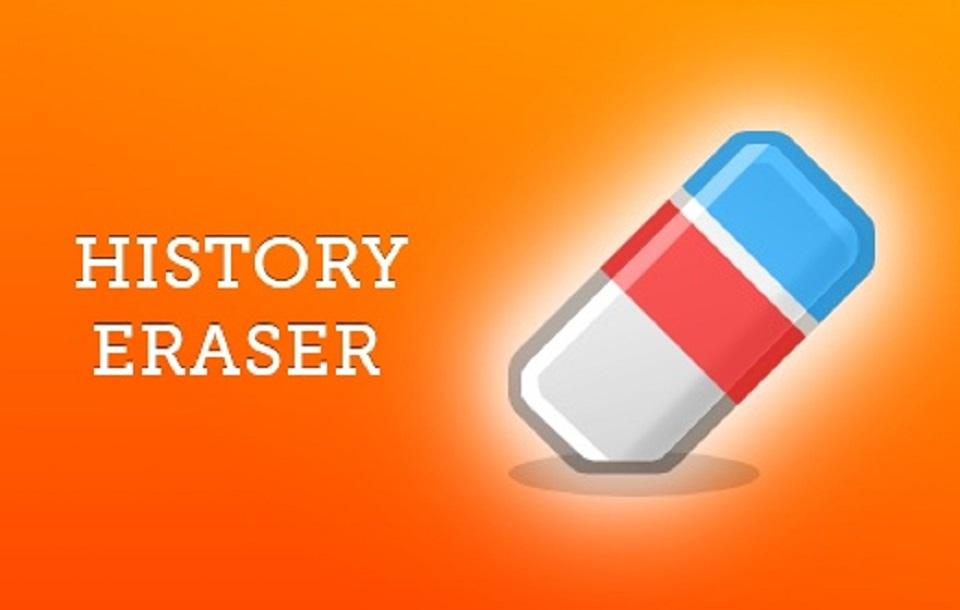 افزونه های گوگل : History Eraser
