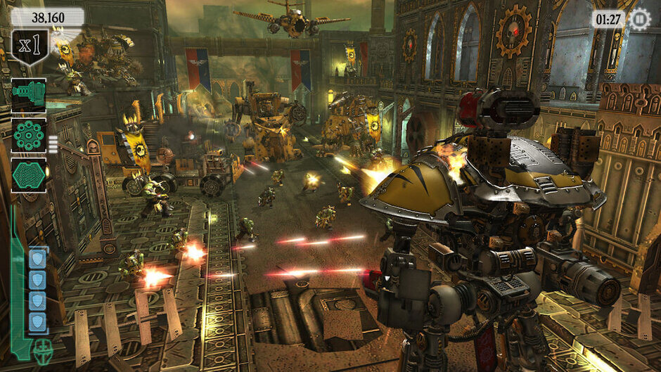 پرحجم ترین بازی های اندروید و ای او اس  Warhammer 40,000: Freeblade