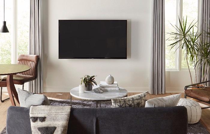 تنظیم محل نصب تلویزیون
