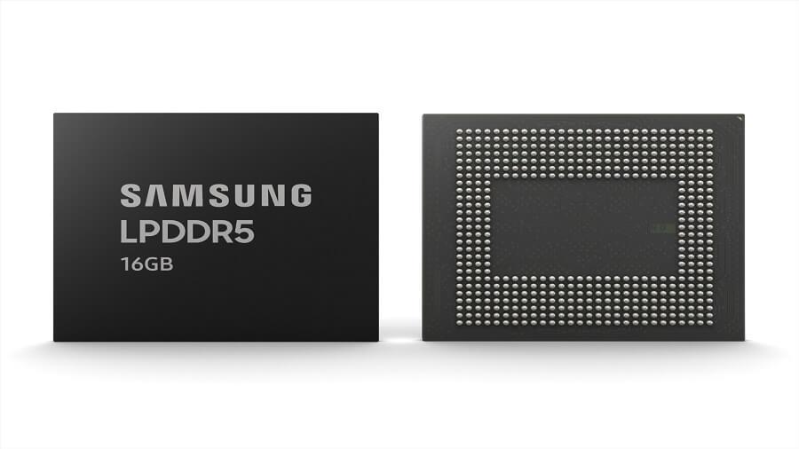 حافظه های ۱۶ گیگابایتی LPDDR5