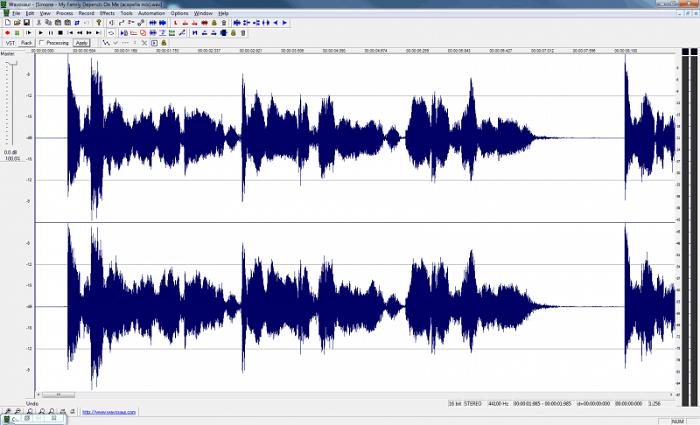 نرم افزار ویرایش صدا ویندوز  Wavosaur