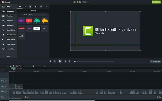 نرم افزار فیلمبرداری از صفحه نمایش کامپیوتر Camtasia