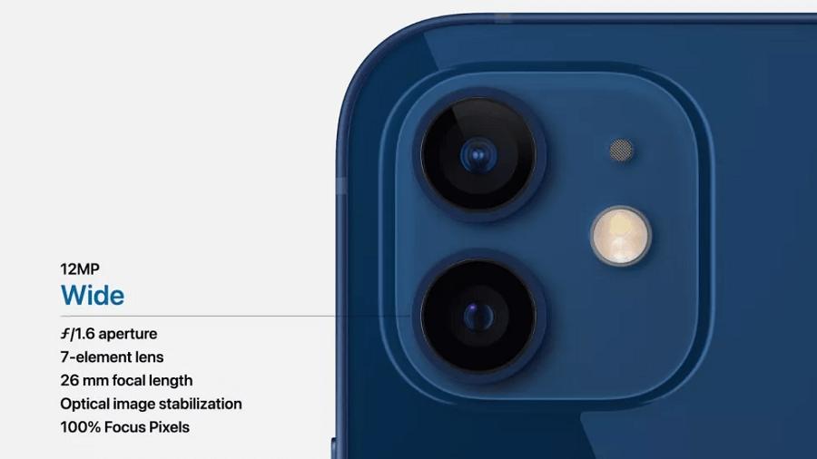دوربین های آیفون 12