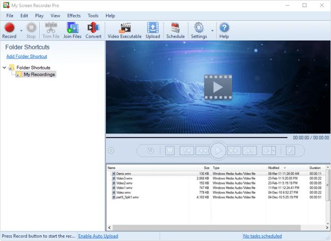 نرم افزار فیلمبرداری از صفحه نمایش کامپیوتر  My Screen Recorder Pro