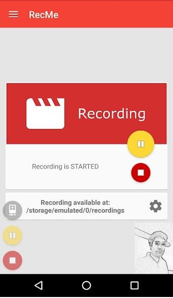 فیلمبرداری از صفحه نمایش اندروید با RecMe