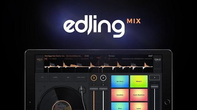 نرم افزار ویرایش صدا آیفون  edjing Mix