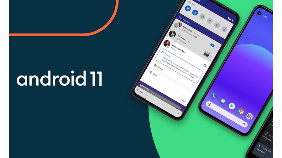 اندروید 11 در گوشی های جدید