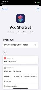 اپلیکیشن add shortcut