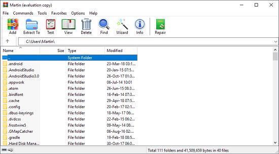 بهترین نرم افزار فشرده سازی WinRAR