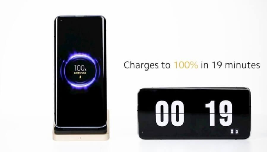 شارژ کردن گوشی تلفن همراه از 0 تا 100 در 19 دقیقه