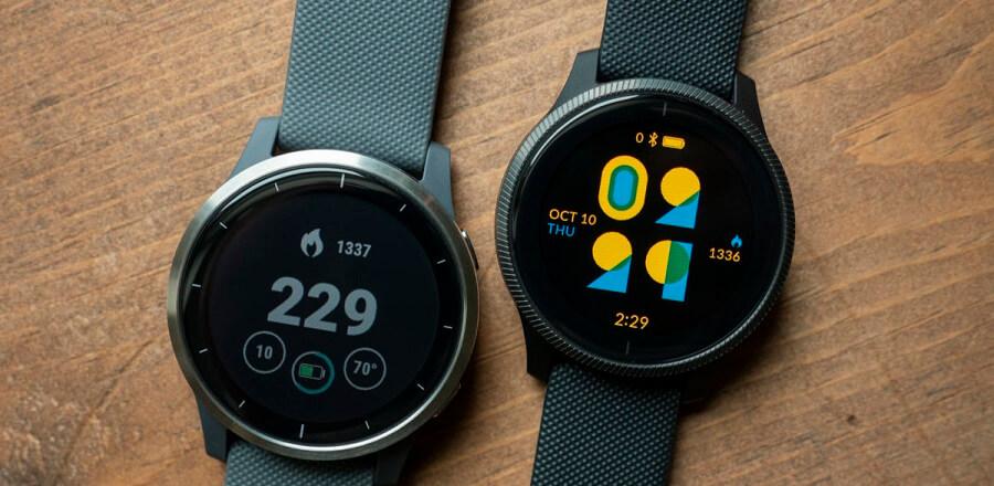 ساعت های هوشمند fitbit :  Fitbit Sense و Versa 3: Garmin Venu و Garmin Vivoactive 4