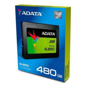 هارد دیسک اینترنال ای دیتا SU650 480GB