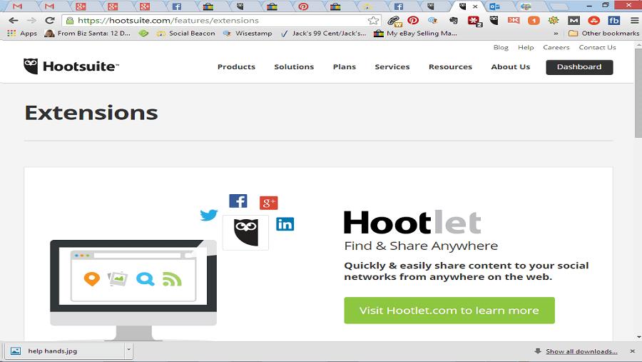 از بهترین افزونه های فایر فاکس می توان به افزونه hootlet اشاره کرد