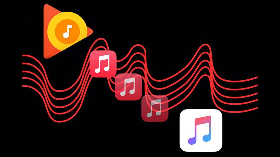 انتقال موسیقی از اندروید به آیفون1