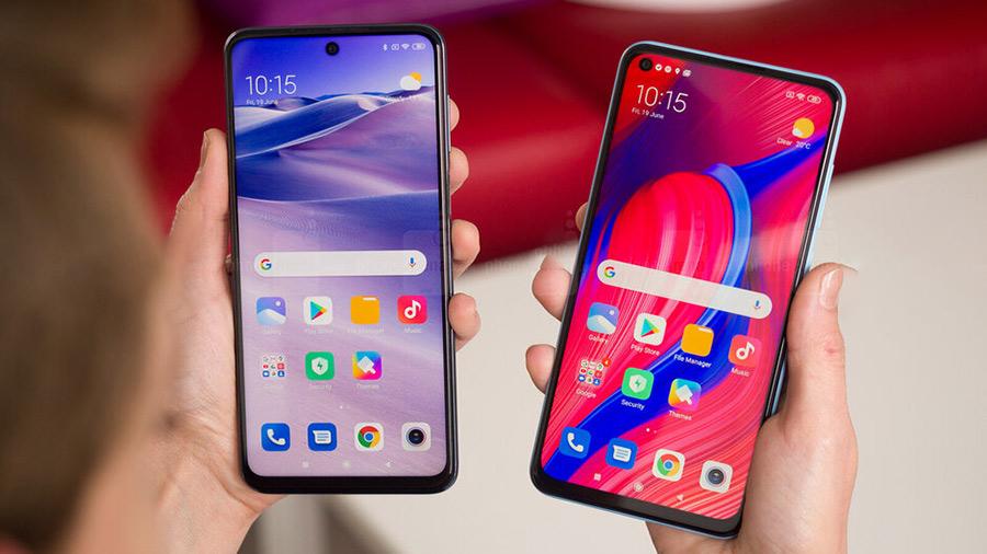 Samsung Galaxy A51 و Xiaomi Redmi Note 9 Pro