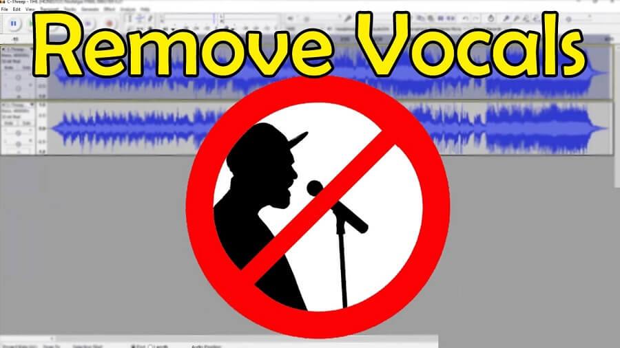 حذف صدای خواننده آهنگ