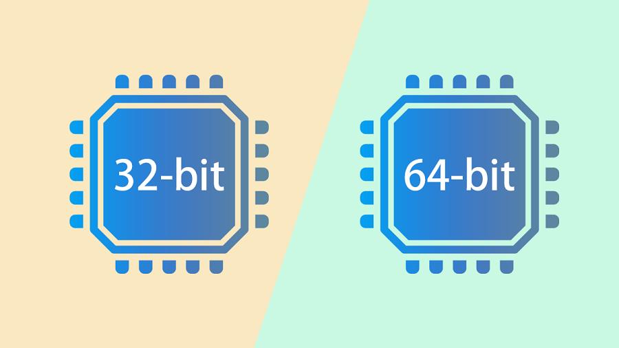 نرم افزار x64 یا x32