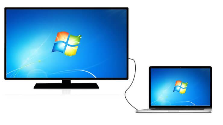 تماشای فیلم از لپ تاپ با کابل HDMI