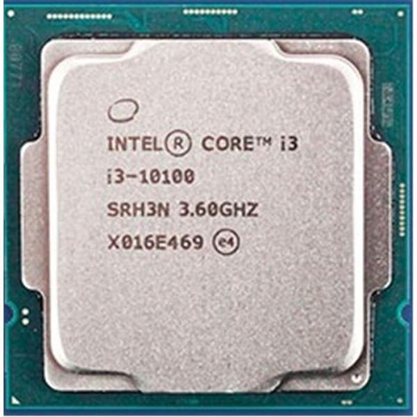 سی پی یو اینتل مدل CPU Intel Core i3 10100 TRY